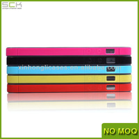 Colorful TPU Bumper Case with Dust Plug for iPhone 5/5s