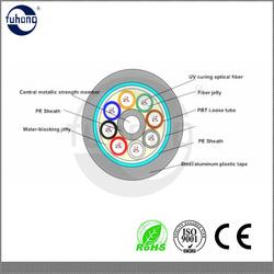 40 core duct fiber optic cable GYTA