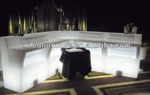 YM Illuminated LED Furniture With Light Battery Led Illuminated Furniture