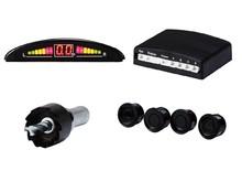 Car LED Parking Sensor Monitor Auto Reverse Backup Radar Detector System + Backlight Display + 4 Sensors