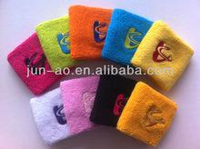 100% cotton sport sweatband