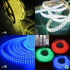China led manufacturer 50m/Roll 60led/Meter SMD 120V strip lamp 5050 110v 220v white flexible dip led strip