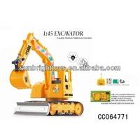 1:45 5CH RC crawler hydraulic mining engineering simulation self erecting construction tower crane