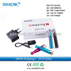Hot and new product somk ego battery kit with leader rbc tank electronic cigarette wax