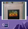 fireplace glass