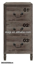 Multi Drawers Shabby Antique Wooden Cabinet