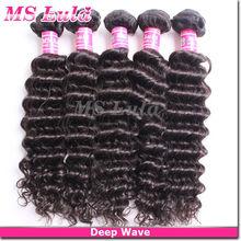 2013 AAAAA top fashion beauty brazilian hair wholesale brazilian loose deep wave hair weave