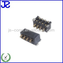 guangdong dongguan electronic circuit battery unit pin and pitch for PCB board battery plug base manufacture