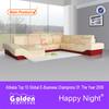 EM-ls6000# alibaba 2015 latest design Top grade leather violino sofa
