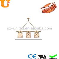 Hot sales Copper hanging lights pendant lamp BR08