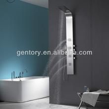 special shower head, colonne de douche, Mirror stainless steel shower panel S255