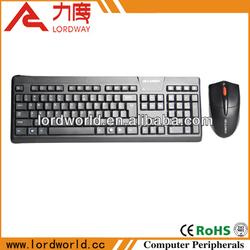 Keyboard mouse wireless combo