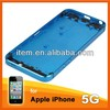 Factory price for iphone 5 Back Cover Blue color in stock