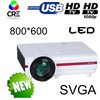Native 800*600 led hd projector outdoor 4000lms advertising projectors