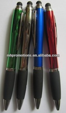 Novelty plastic ball pen and plastic ball pen with ball click