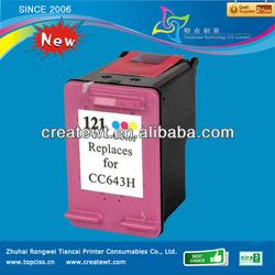 for hp black print cartridge 121