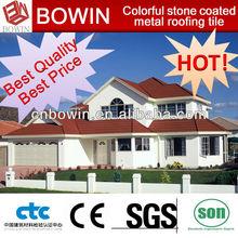 Africa popular color metal roof tile 1340*420 mm