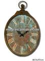 nuevo estilo retro de madera del arte reloj de pared de la decoraci&
