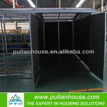 prefabricated steel frame garage