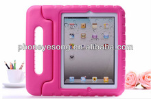 EVA foam case for iPad mini, with handle kick stand design gifts for childern