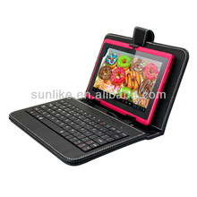 Cover Cases for Android Tablet 7,8,9,9.7 & 10 inch with Keyboard