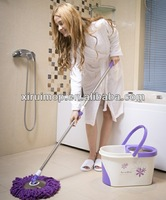Mop Bucket/Wringer Combo top-quality 360 degree easy cleaning magic mop series spin roto mop ( XR16)