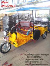 2014 INDIAN PASSENGER E TRICYCLE,TUKTUK,BATTERY OPERATED RICKSHAW 800W-1000W FOR KALKATA MARKET