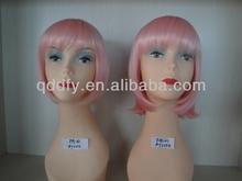 2014 Hot Sale Fashion Cheap Short Light Pink Wigs