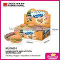 marca lantos 40g cachorro quente e hambúrguer marshmallow forma