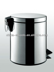 Folding Trash Bin Foot Pedal Stainless Steel Trash Cans From China 7003