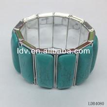 Square shape elastic resin Bracelet 2014