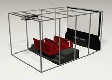 Simulator newest mini 6 seats 5D Dinosaur Dynamic - DC-QF006 roller coaster theatre 5d cinema
