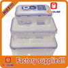 Super quality low price 100% food grade plastic lunch box