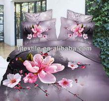Nantong Hanfu brand beautiful flowers 3D cotton bedding sets