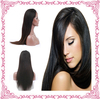 full lace wig human hair silky straight natural color