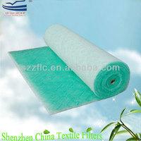 fiberglass paint stop air filter material