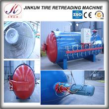 Cold tire repair vulcanizer machine for otr tire
