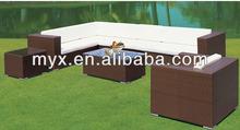 Leisure Outdoor garden sofa wicker rattan outdoor patio furniture