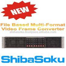 VCX1 File Based Video Frame Converter for intercom broadcast van