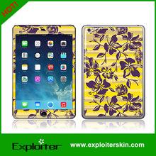 for ipad mini 2 gel epoxy crystal 3d skin sticker cover
