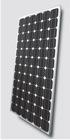 A grade 255W mono solar panel with TUV,CE,CEC