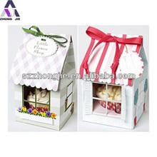 new design attractive wedding cake boxes