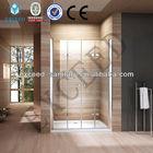 6MM tempered glass shower screen with door pivot hinge