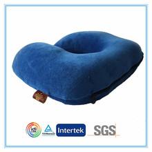 Soft fabric stuffed bean bag neck pillow