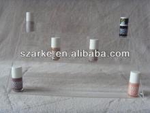 Popular 2014 barniz de uñas/polaco/opi/cosméticos/conforman/soporte de exhibición/titular