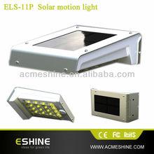 ELS-11P Automatic Dawn Dask Outdoor Solar Power PIR human Sensor Light Switch