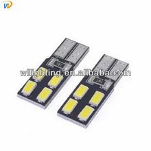 2014 NEWS !! 2PC/lot Car Auto LED T10 194 W5W Canbus 8 smd 5630 LED Light Bulb No error led light