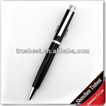 short black metal ball pen