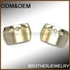 Personalized Stainless Steel Jewelry Cufflink Set