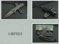 14KF023 Stainless steel survival folding knives